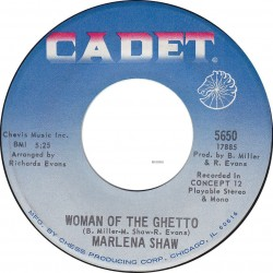 'Woman Of The Guetto' (Cadet, 1969)